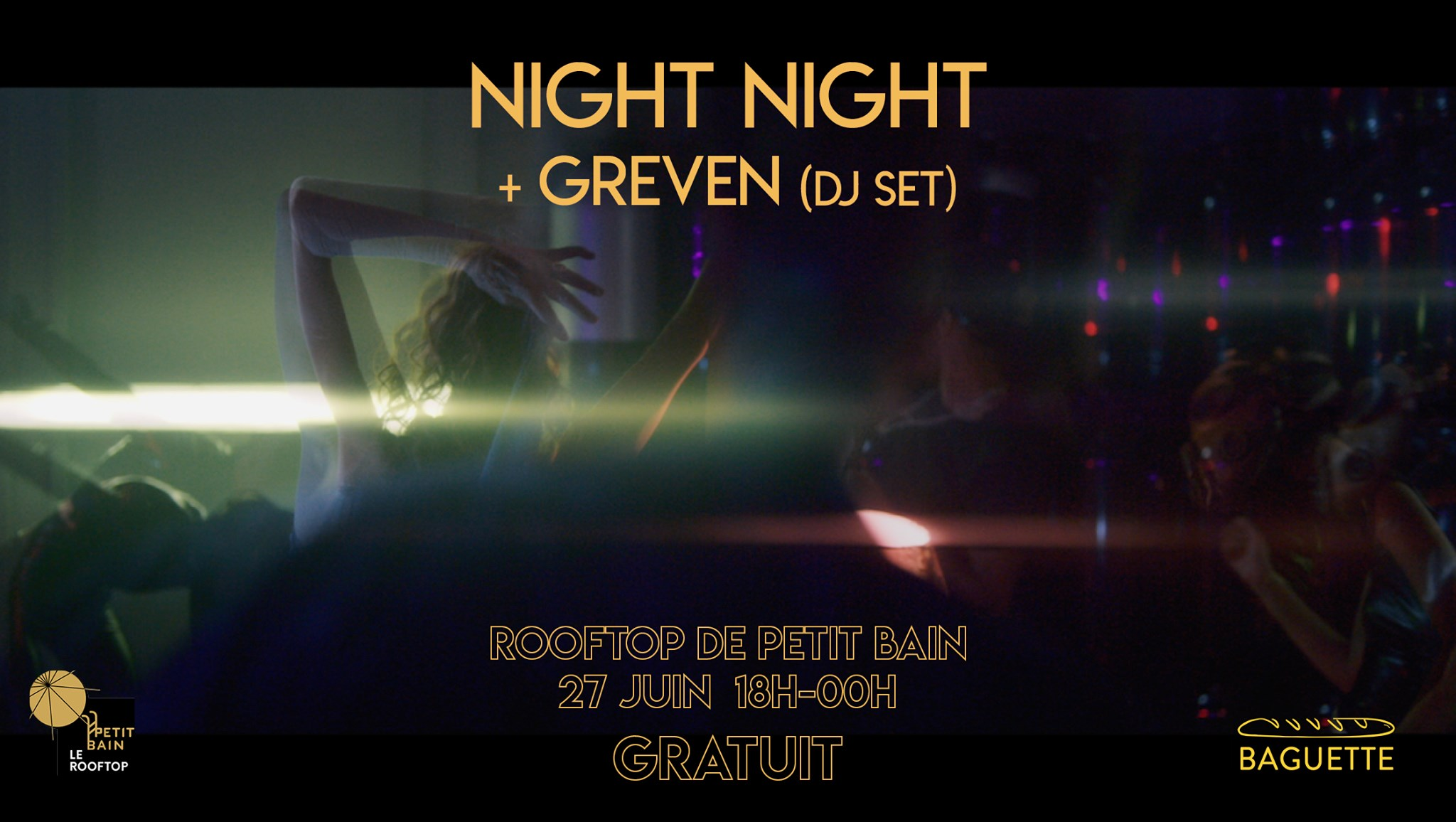 JEUDI POP POP : NIGHT NIGHT + GREVEN