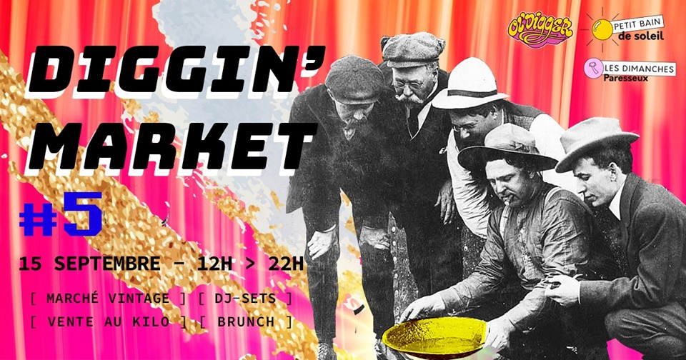 LES DIMANCHES PARESSEUX | DIGGIN' MARKET #5 : MADE IN CHINAGE