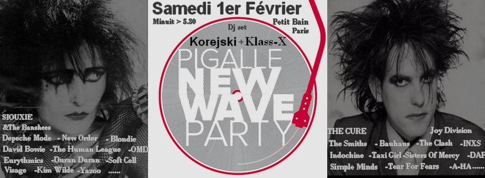 PIGALLE NEW-WAVE PARTY