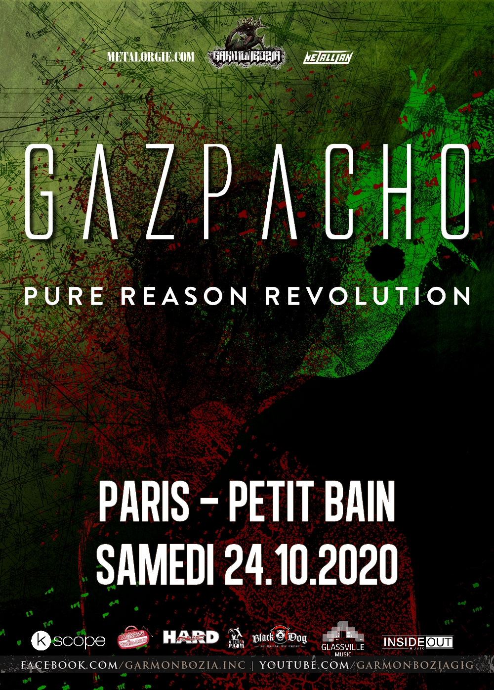 GAZPACHO + PURE REASON REVOLUTION