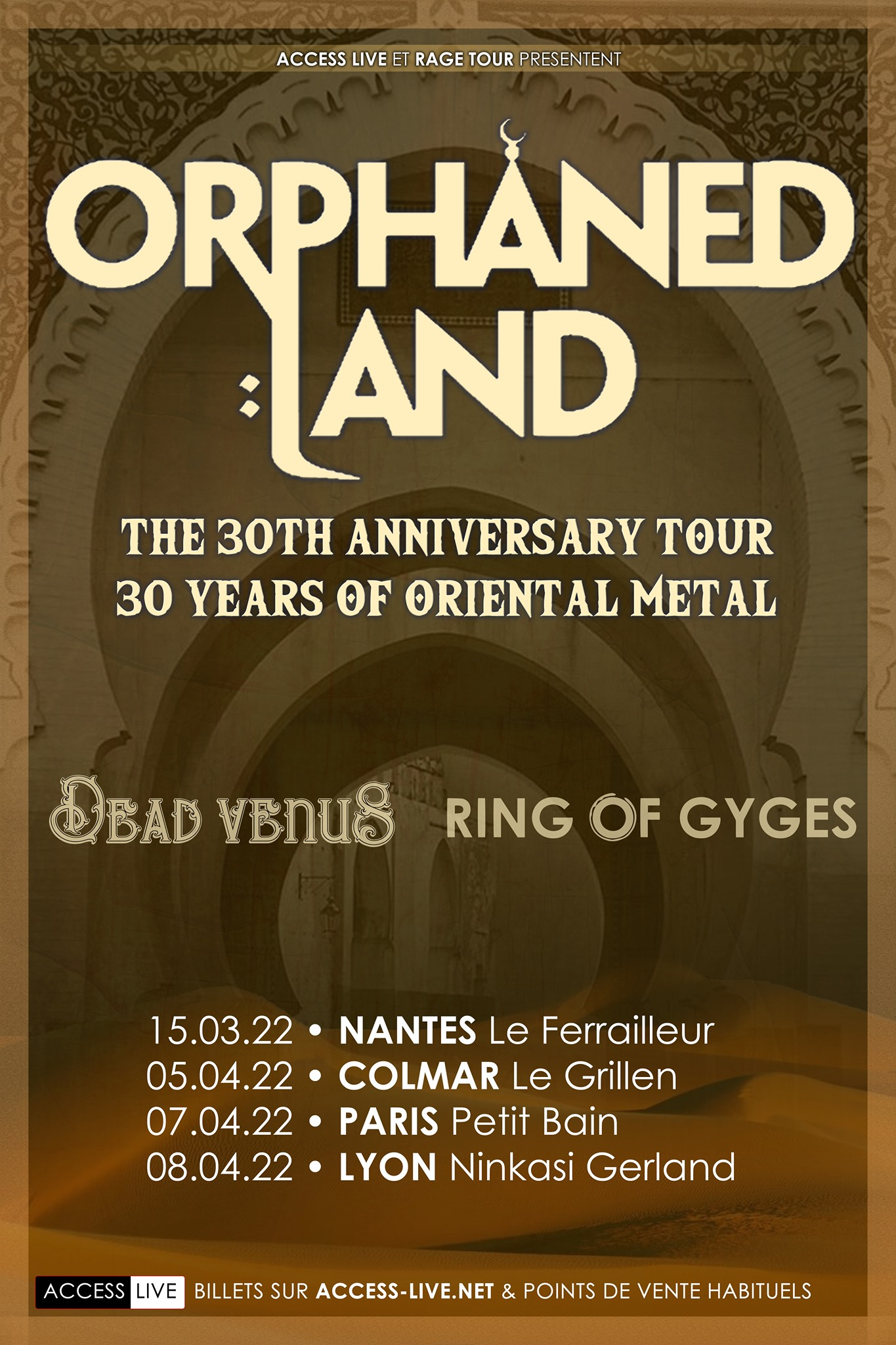 ORPHANED LAND + GUEST
